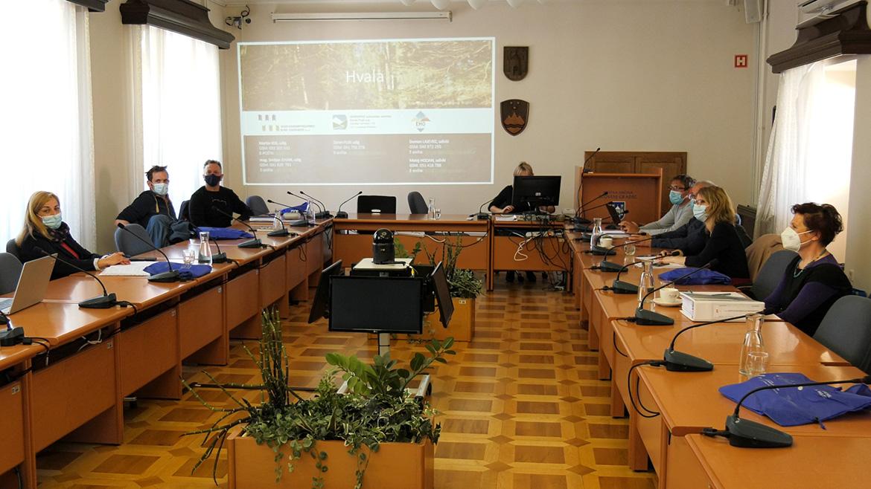 Predstavitev ukrepov za zmanjšanje poplavne ogroženosti v Slovenj Gradcu