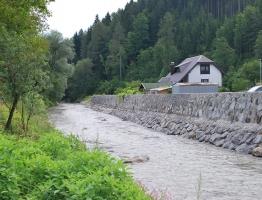 Slika 7: Ureditev Meže na območju Prevalj II