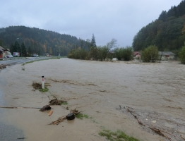 Mislinja, Pameče - poplava 2012