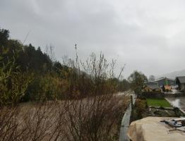 Slika 6: Poplavljanje Mislinje, Pameče, 2012