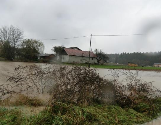 Homšnica, poplava 2012